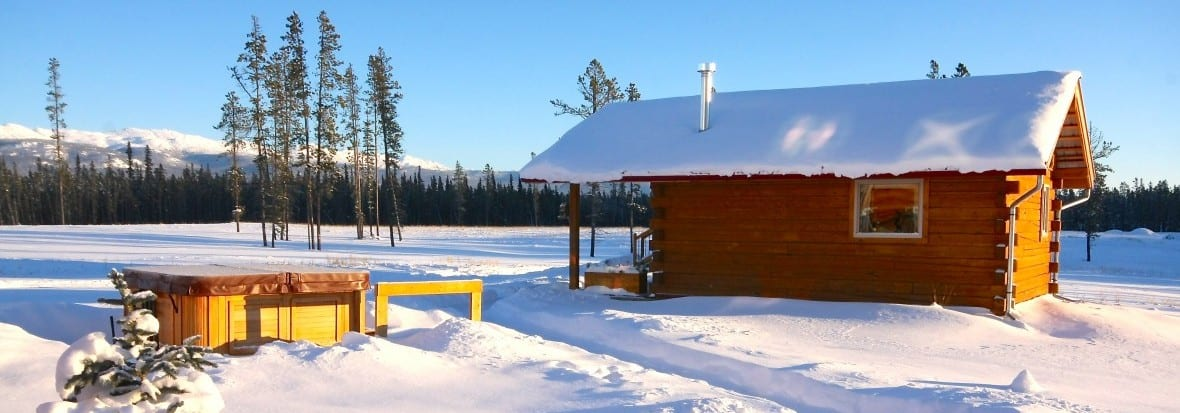 Chalet Enzian with Hot Tub in Winter